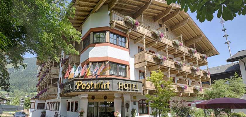 Hotel Postwirt, Söll, Austria - exterior in summer.jpg